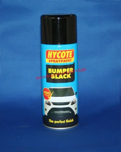 Bumper Black Spray Paint Hycote 400ml For Bumpers Trim